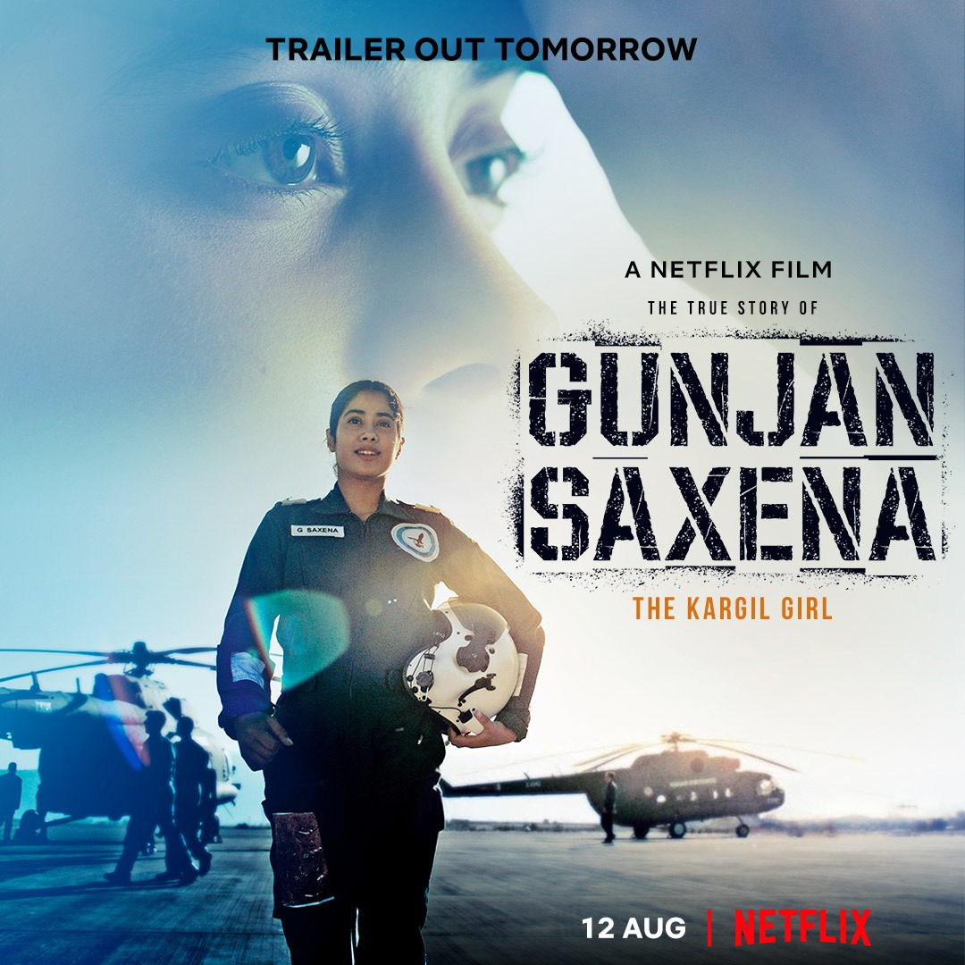 Exclusive Review Gunjan Saxena Janhvi Kapoor Lives And Breathes The Part Delivers An Entertainer With Karan Johar And Sharan Sharma Planet Bollywood